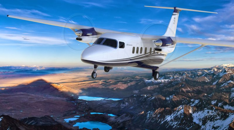 Textron Aviation unveils the Cessna SkyCourier.