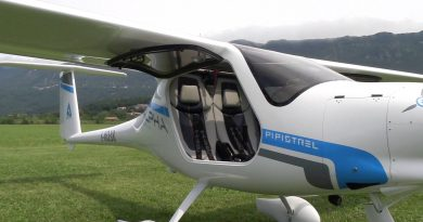 Flying Pipistrel's Electric Airplane